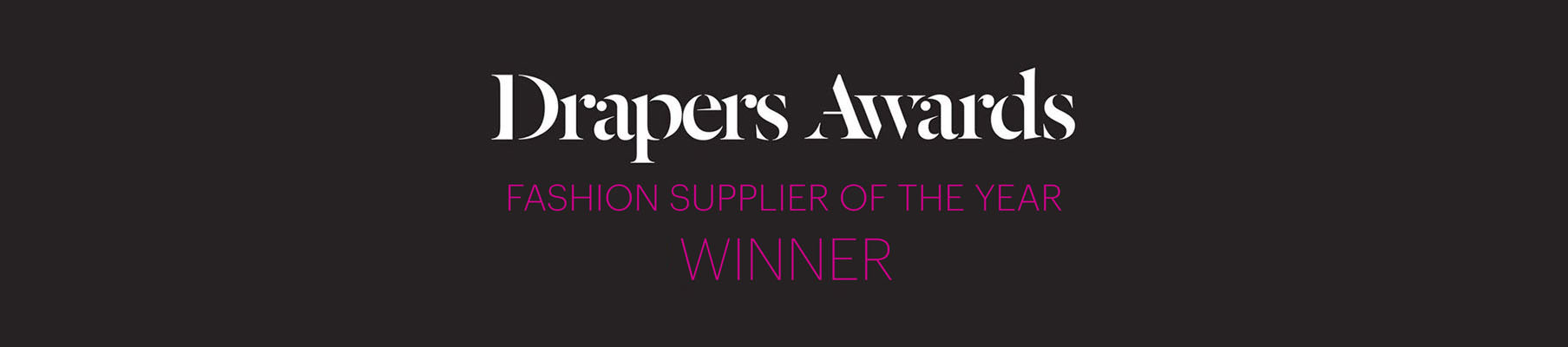 Clothing Manufacturers- supplier of the year
