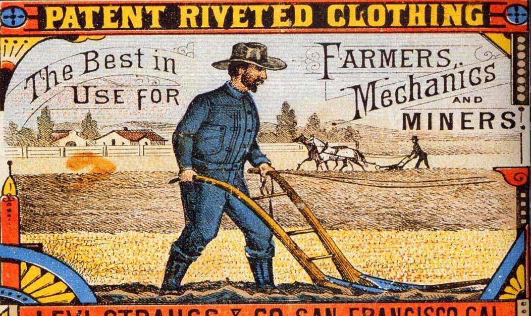 Levi jeans 1800 advertisement