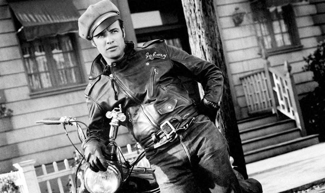 Marlon Brando wearing jeans