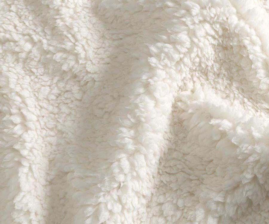Sherpa fabric guide